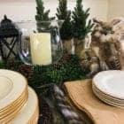 Winter Table Setting Ideas