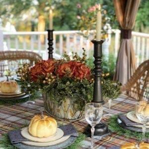 Fall Tablescape Idea