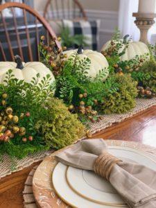 Neutral Fall Tablescape Idea