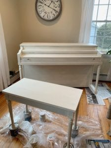 Painting the Piano