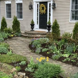 Early Spring in the Cottage Garden