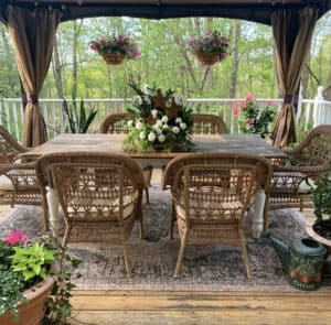 Outdoor Summer Living Spaces