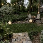 How to Add Solar String LIghts to the Yard
