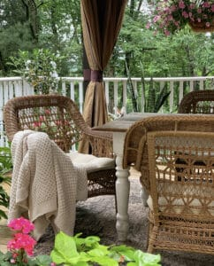 Outdoor LIving Space Home Tour