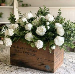 Vintage Floral Centerpiece