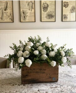 Vintge Centerpiece Ideas for the Dining Table