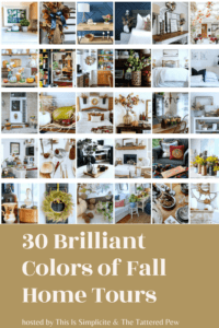 Brilliant Colors of Fall Home Tour