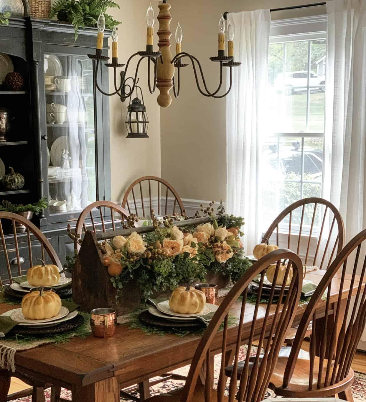 Simple Fall Table Setting Ideas