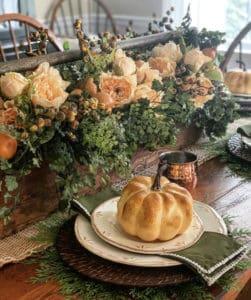 Simple Fall Table Setting Idseas