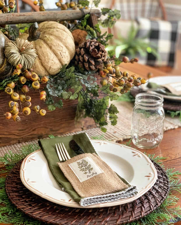 Easy Fall Table Decor Ideas