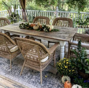 Outdoor Fall Deorating Ideas