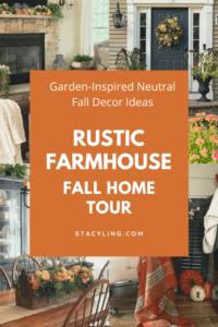 Rustic Farmhouse Fall Home Tour