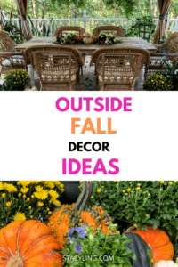 Outside Fall Decor Ideas