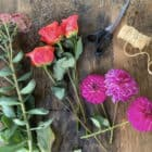 How to dry flowers - supplies