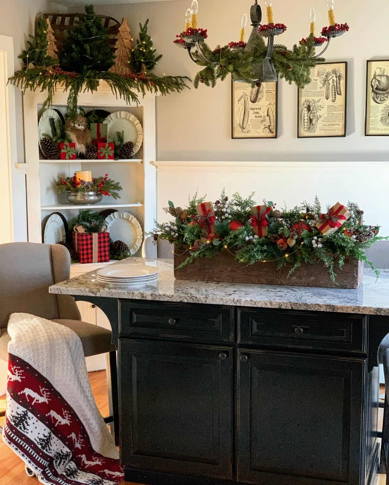 Rustic Farmhouse Christmas Decorating Ideas Stacy Ling
